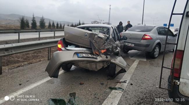 Kırıkkale'de trafik kazaları:7 kişi yaralandı