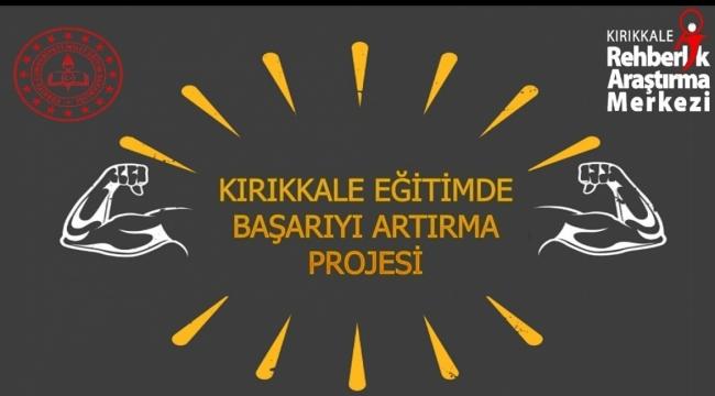 Kırıkkale'de eğitimde yeni bir proje daha hayata geçirildi
