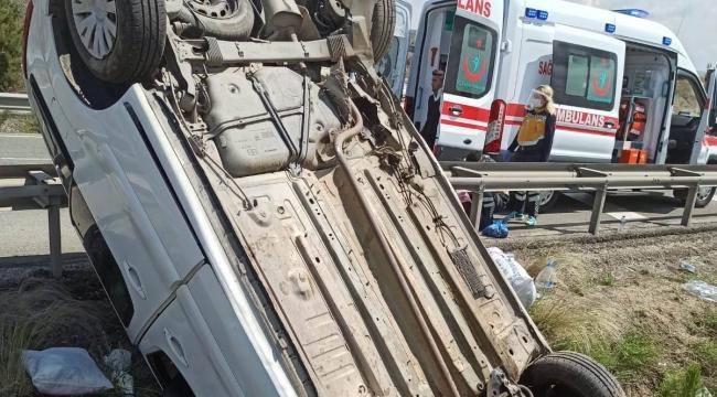 Kırıkkale'de trafik kazaları: 11 yaralı