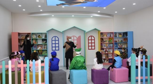Çocukların rüyası Bebek ve Çocuk Kütüphanesiyle gerçek oldu
