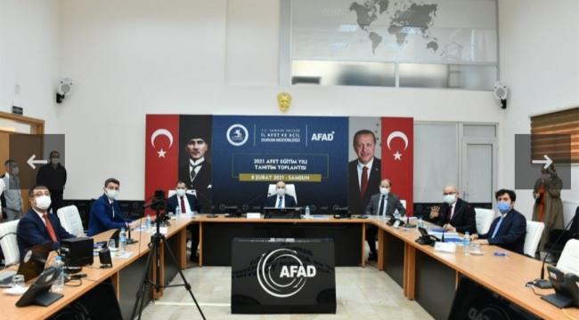 Samsun'da Afet Eğitim seferberliği başlatıldı