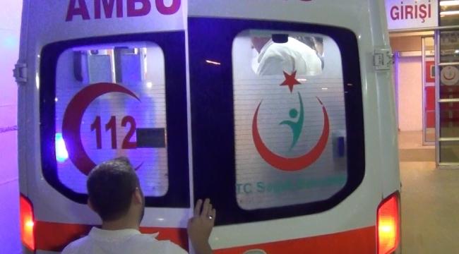 Zehirlenen 4 kişi hastaneye kaldırıldı