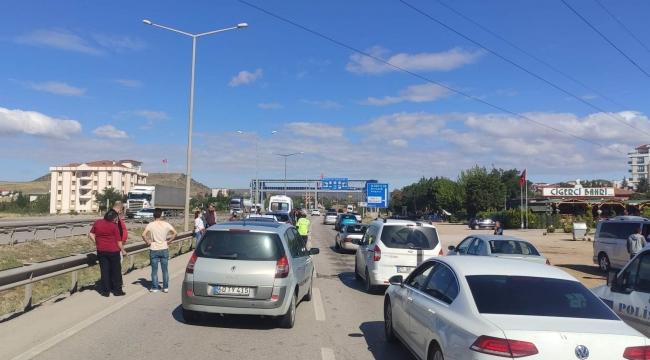 Kırıkkale'de 5 araçlı zincirleme trafik kazası