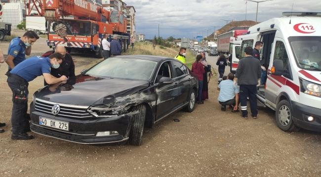 Kırıkkale'de trafik kazaları: 7 kişi yaralandı