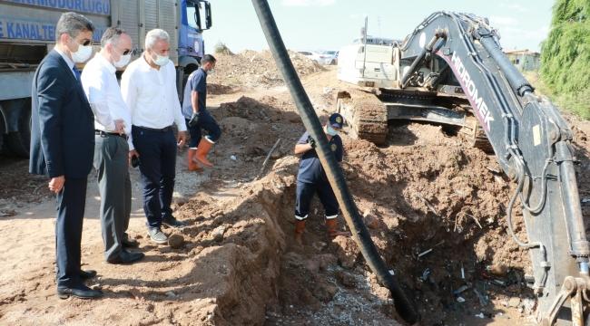 """Kırıkkale'de su kesintisi, Başkan Saygılı, """"Çalışmaların başındayız"""""""