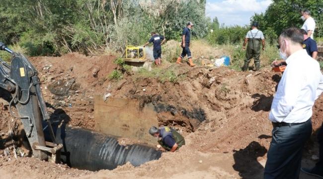 Kırıkkale'deki su kesintisi ile ilgili açıklama..!