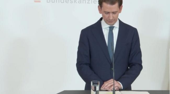 Avusturya Başbakanı'ndan istifa kararı...!